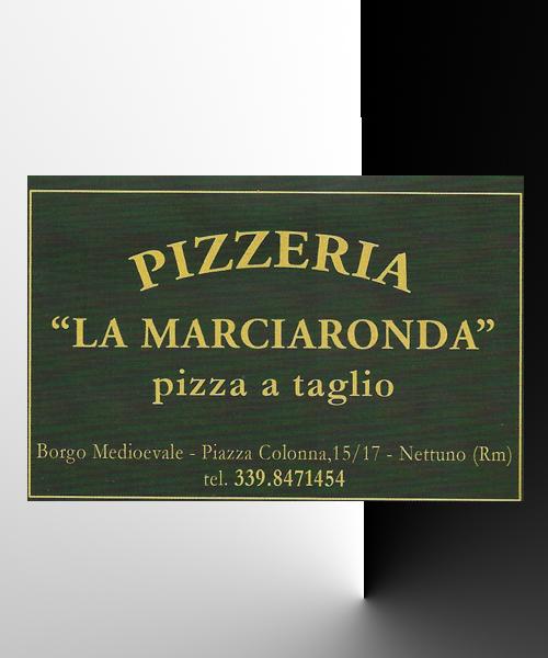 Pizza a taglio a Nettuno, Roma